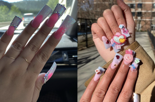 Duck Nails Are The New Trend & You'll Either Love Them Or Hate Them