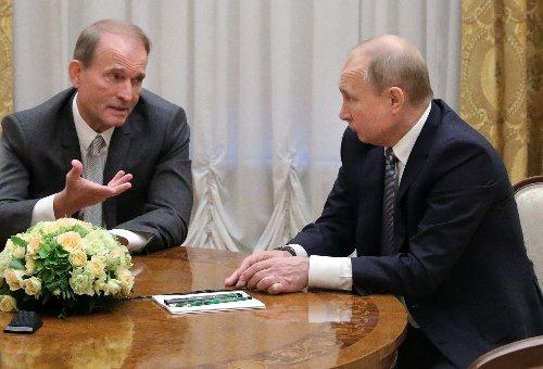 Ukraine charges Putin ally Medvedchuk with treason