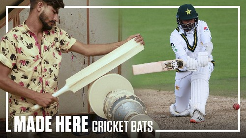 How Cricket Bats are Made | MADE HERE | Popular Mechanics
