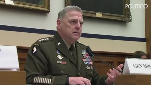 Top general fires back at 'offensive' criticism of military being 'woke'