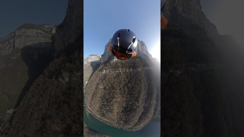 Adventurer Shares Beautiful Wingsuit Views of the French Alps