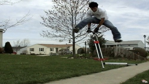 Big Air Stunts on a Pogo Stick? You've Got to See This