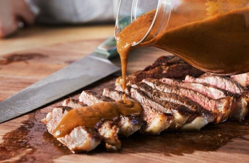 This Mushroom Sauce Will Take Your Steak To A New Level