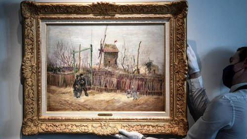 Unseen Van Gogh goes on public display before Sotheby's auction in March