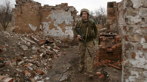 NATO says Russia's military buildup at Ukraine's border is 'unjustified, unexplained and concerning'