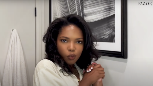 Ryan Destiny's Nighttime Skincare Routine   Go To Bed With Me