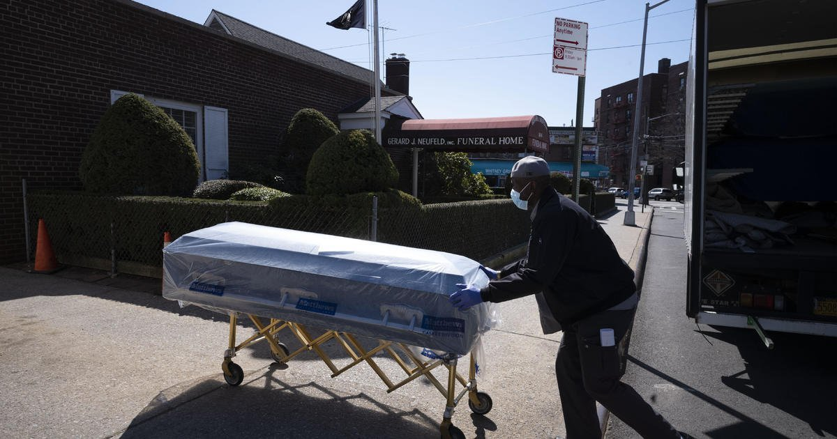 COVID-19 was the third leading cause of death in the U.S. in 2020, CDC says