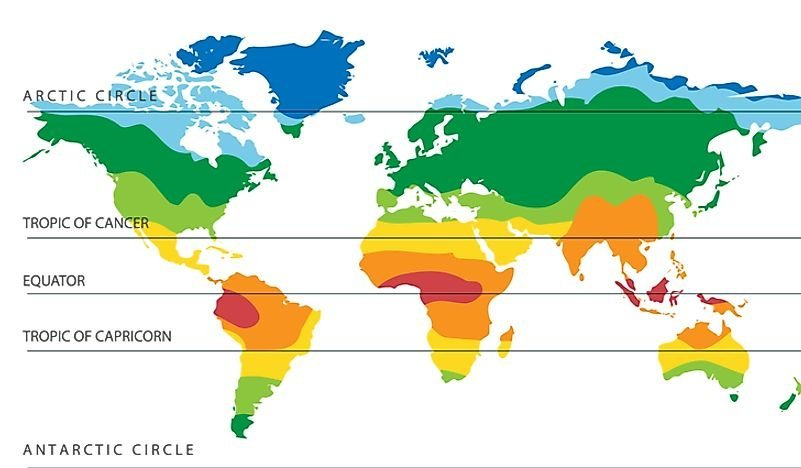 90% of the world's population lives in the northern hemisphere