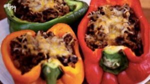 Quarantine Leftover Meals: Delicious Taco Stuffed Peppers
