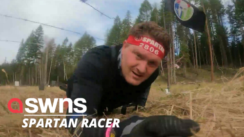 This man, who lost both his legs, now competes in Spartan Races and marathons (RAW)
