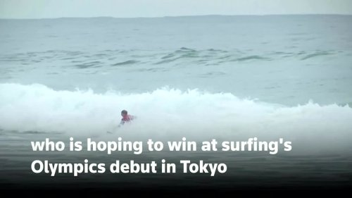 The Australian surfer going for gold