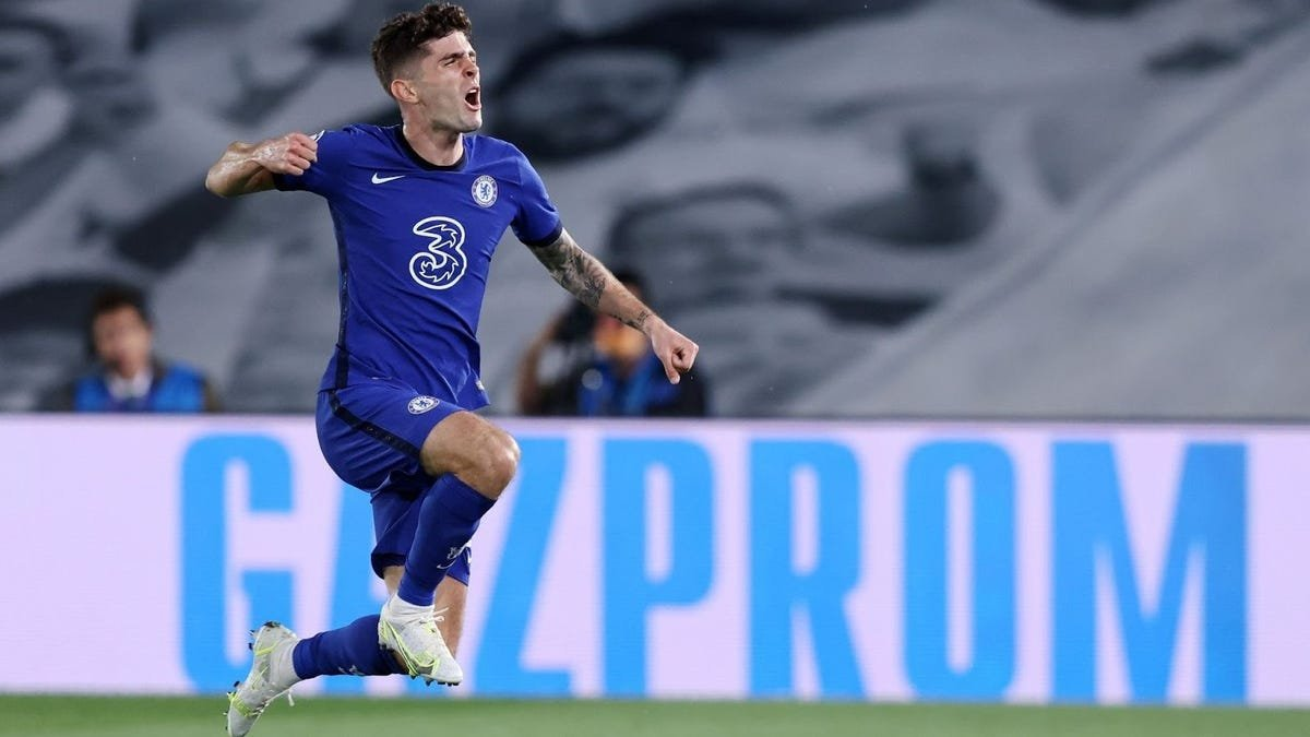 Christian Pulisic becomes first American to score in Champions League semifinal