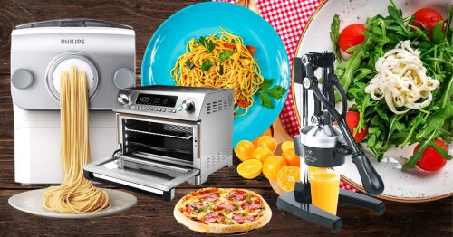 Mother's Day Gift Ideas - Kitchen Appliances With Recipes
