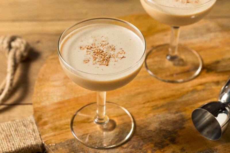 6 Coffee & Chocolate Flavored Cocktails