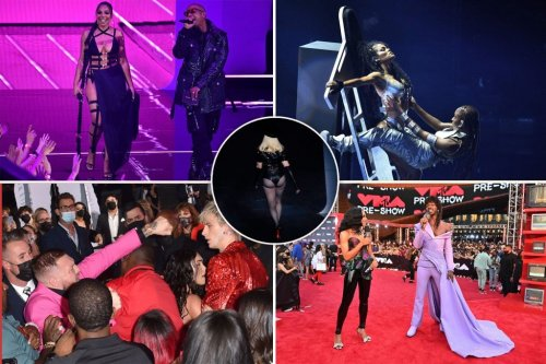From Madonna's butt to Billie snubbing J.Lo: Best & worst moments from 2021 VMAs