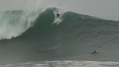 Surfer Buried Alive By Monster Wave!