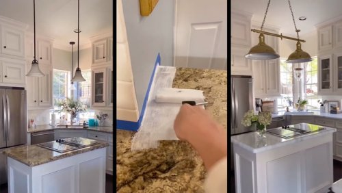 Woman Transforms Kitchen Countertops With Game-Changing Hack