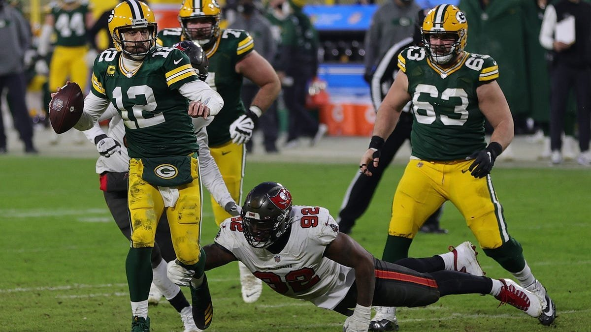 Still think Rodgers could've run it in?