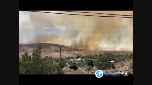 US: Petrilla Fire In Reno, NV Prompts Road Closures, Evacuations