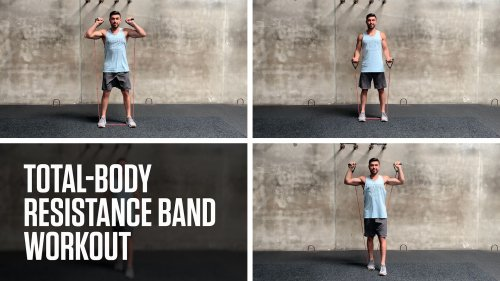 Total-Body Resistance Band Workout