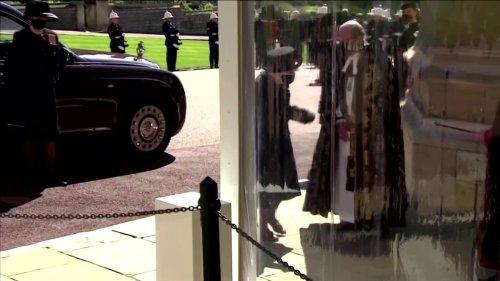 Britain and its queen bid Prince Philip farewell