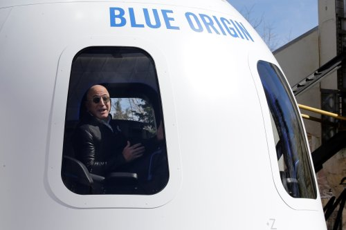 Jeff Bezos is launching to space on July 20 on a Blue Origin Rocket
