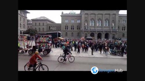 Fridays for Future Climate Strike in Bern, Switzerland 2