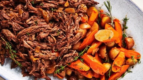 Instant Pot Pot Roast Is Ridiculously Tender And Easy To Make