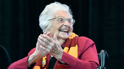 Loyola Has Become a Fan Favorite Thanks to Sister Jean