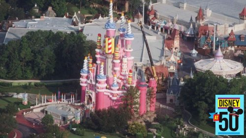 Do you remember Cinderella Castle as a big pink birthday cake?