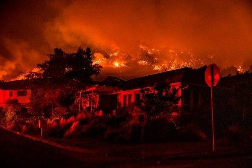 In Pictures: The California On Fire