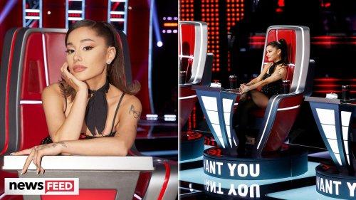 Ariana Grande BREAKS Contract As 'The Voice' Coach Amid Season Debut!
