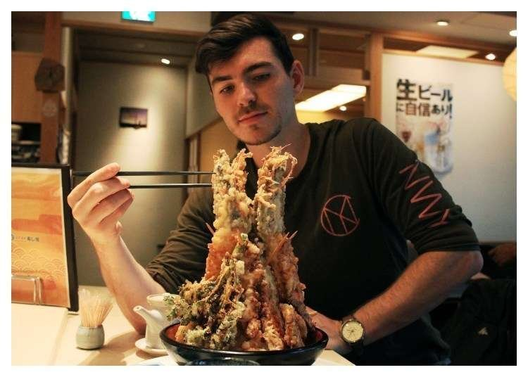 We're Hungry for Japan's Mountainous Meals!