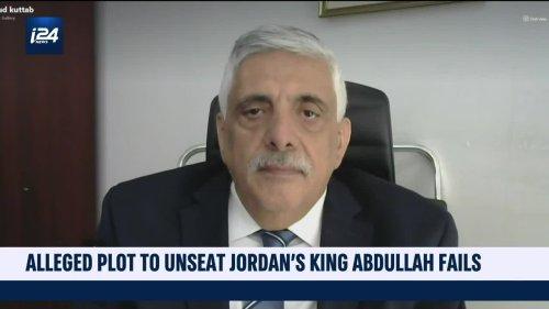 Alleged plot to unseat Jordanian king fails