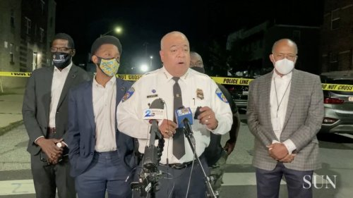 Police Commissioner says officer struck by vehicle, suspect injured   VIDEO