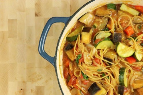 One-Pot Ratatouille Spaghetti — Plus More Delicious One Pot Meals