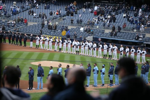 'It's been a long year for New York' - Yankees fans cheer Opening Day at last