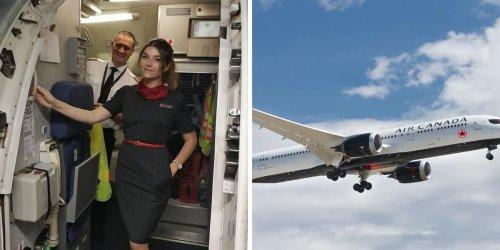 Air Canada engage des agents de bord à Montréal et le salaire est 28,28 $/h