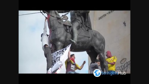 Protests continue in Bogota against the government of Ivan Duque