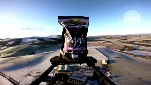 Haggis launched to the edge of space