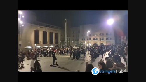 Spain: People in Barcelona gather and celebrate lifting of Covid-19 state of emergency