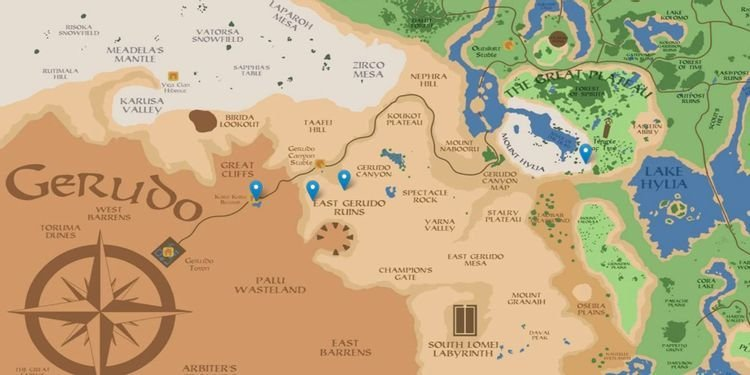 Breath Of The Wild Player Creates Interactive Map Of Hyrule With Street View
