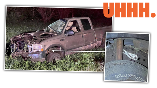 Roll-Over Wreck Is A Good Reminder That Vise Grips Aren't Safety Equipment