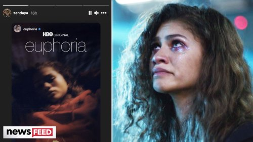 Zendaya Gives NEW Glimpse Of 'Euphoria' Season 2!