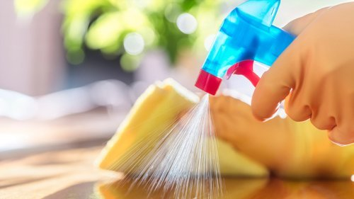 The One Thing In Your House You Shouldn't Be Disinfecting