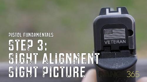 Handgun Fundamentals: A Good Sight Picture