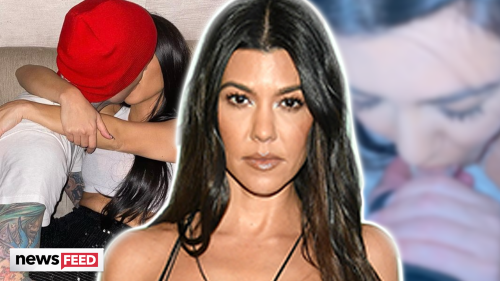 Kourtney Kardashian SUCKS On Travis Barker's Thumb In Odd Birthday Post!