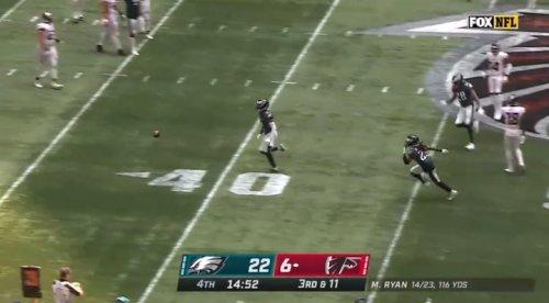 Darius Slay pass breakup vs Atlanta Falcons