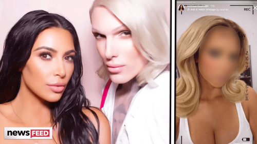 Fans Compare Kim Kardashian To Jeffree Star Over THIS Photo!