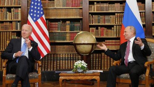 Putin tells Biden he hopes meeting will be productive